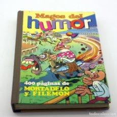 Tebeos: MAGOS DEL HUMOR XVIII - Nº18 - EDITORIAL BRUGUERA - AÑO 1974 - MORTADELO Y FILEMON - 1º EDICION. Lote 176863789