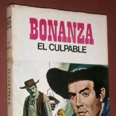 Tebeos: BONANZA: EL CULPABLE / NBC INC. DE ED. BRUGUERA EN BARCELONA 1968 PRIMERA EDICIÓN. Lote 176876359