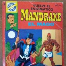 Tebeos: POCKETT DE ASES Nº 38 MANDRAKE EL MAGO - BRUGUERA - OFM15. Lote 174207280