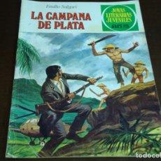 Tebeos: JOYAS LITERARIAS JUVENILES LA CAMPANA DE PLATA Nº 224 1 ERA EDICION. Lote 176915584