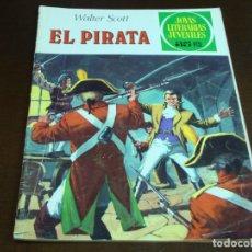 Tebeos: JOYAS LITERARIAS JUVENILES EL PIRATA Nº 6 . Lote 176916200