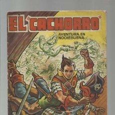 Tebeos: EL CACHORRO, ALMANAQUE PARA 1957, BRUGUERA. COLECCIÓN A.T.. Lote 176965192