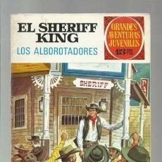 Tebeos: EL SHERIFF KING 36: LOS ALBOROTADORES, 1972, BRUGUERA, PRIMERA EDICIÓN, BUEN ESTADO. Lote 176973947