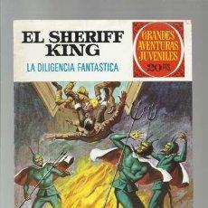 Tebeos: EL SHERIFF KING 64: LA DILIGENCIA FANTASTICA, 1975, BRUGUERA, PRIMERA EDICIÓN, MUY BUEN ESTADO. Lote 176974264