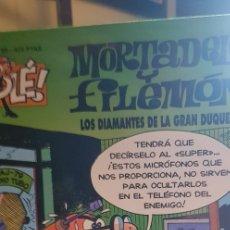 Tebeos: OLÉ. LOS DIAMANTES DE LA GRAN DUQUESA. Nº 66 3ª ED. 1999. Lote 177033010