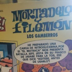 Tebeos: OLÉ. LOS GAMBERROS. Nº 52 2ª ED- 1997 RELIEVE. Lote 177034012