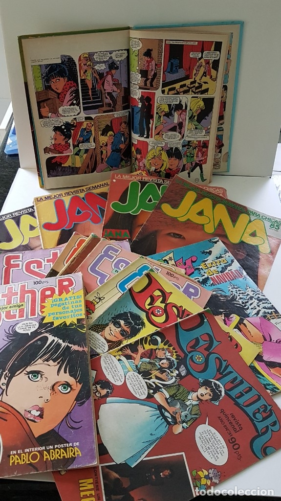 LOTE DE 18 TBOS PARA CHICAS DE LOS AÑOS 80: JANA, ESTHER LILY.... (Tebeos y Comics - Bruguera - Esther)