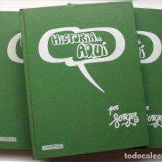 Tebeos: HISTORIA DE AQUÍ. POR FORGES. TRES TOMOS. COMPLETA. PRIMERA EDICIÓN 1980-81. Lote 177207053