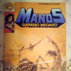 Tebeos: MANOS GUERRERO INDÓMITO - Nº 10 - CÓMICS BRUGUERA- 1984-ANTONIO CORREA-ESCASO-BUENO-LEAN-2012. Lote 177209295