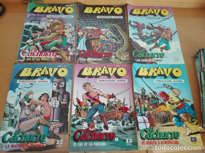 COLECCIÓN COMPLETA EL CACHORRO E INSPECTOR DAN (Tebeos y Comics - Bruguera - Bravo)