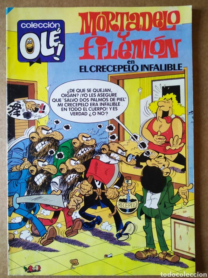 MORTADELO Y FILEMÓN EN CRECEPELO INFALIBLE (BRUGUERA, 1985). COLECCIÓN OLÉ! N°308. BRUGUERA EQUIP (Tebeos y Comics - Bruguera - Ole)
