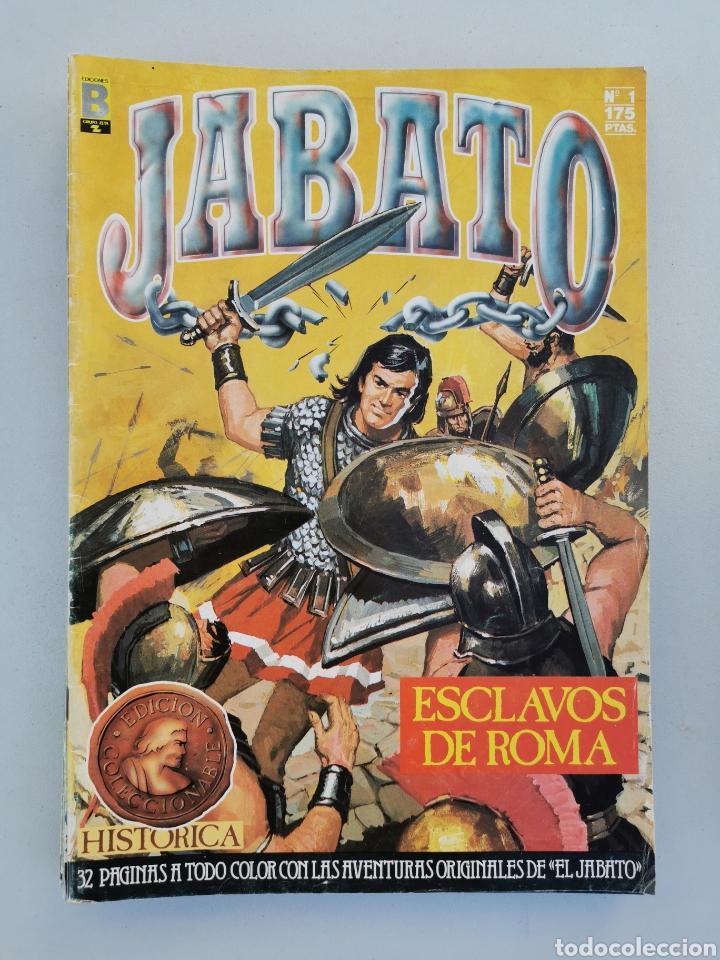 Tebeos: JABATO DEL 1 AL 10 EDICIÓN HISTÓRICA 1987 - Foto 2 - 177500547