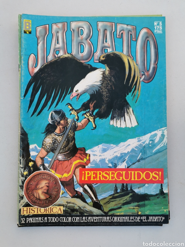 Tebeos: JABATO DEL 1 AL 10 EDICIÓN HISTÓRICA 1987 - Foto 6 - 177500547