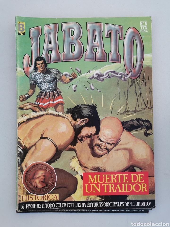 Tebeos: JABATO DEL 1 AL 10 EDICIÓN HISTÓRICA 1987 - Foto 7 - 177500547