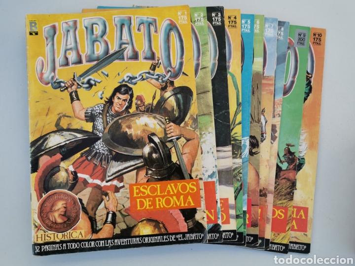 JABATO DEL 1 AL 10 EDICIÓN HISTÓRICA 1987 (Tebeos y Comics - Bruguera - Jabato)