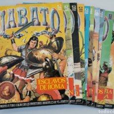 Tebeos: JABATO DEL 1 AL 10 EDICIÓN HISTÓRICA 1987. Lote 177500547