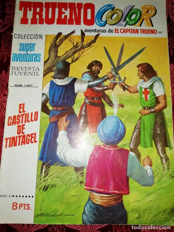 10 NUMEROS TRUENO COLOR,AÑOS 1972 AL 74 (Tebeos y Comics - Bruguera - Capitán Trueno)