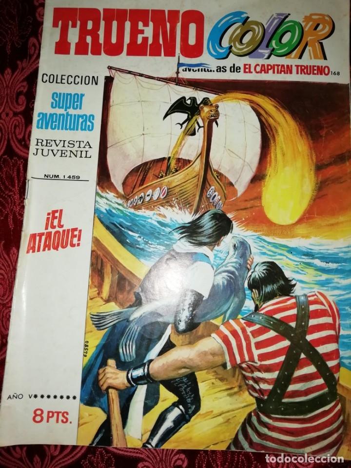 Tebeos: 10 numeros Trueno color,años 1972 al 74 - Foto 4 - 177571048