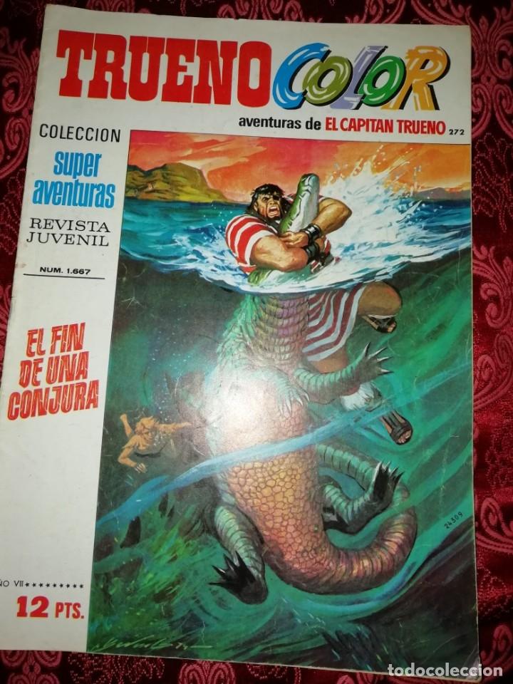Tebeos: 10 numeros Trueno color,años 1972 al 74 - Foto 5 - 177571048