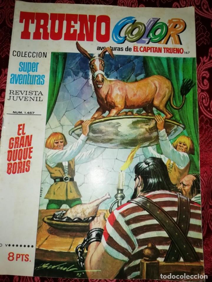 Tebeos: 10 numeros Trueno color,años 1972 al 74 - Foto 6 - 177571048