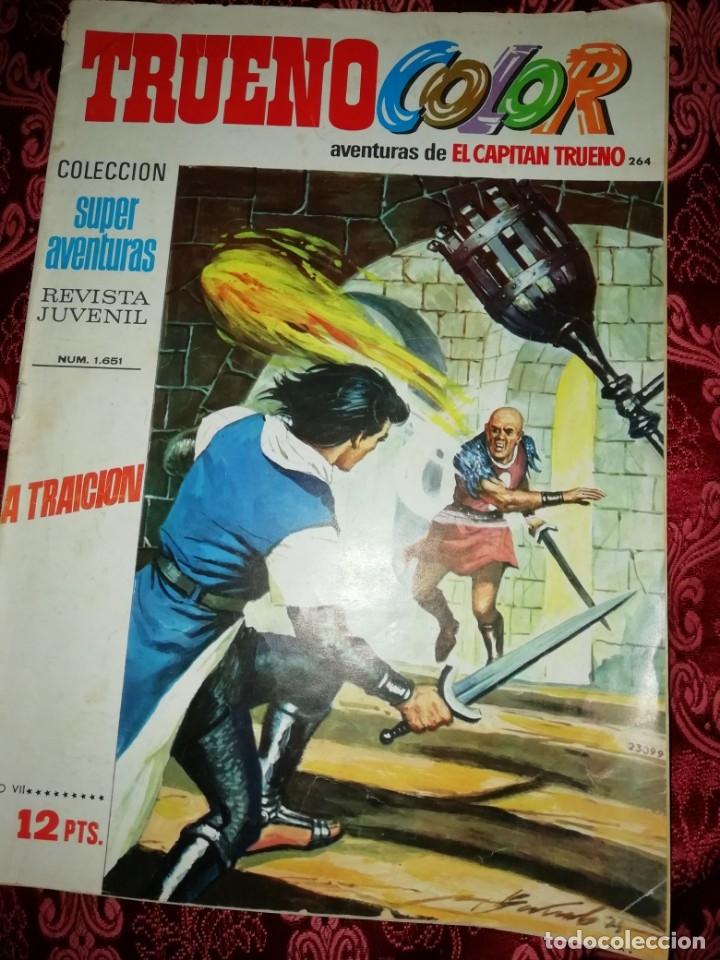 Tebeos: 10 numeros Trueno color,años 1972 al 74 - Foto 7 - 177571048