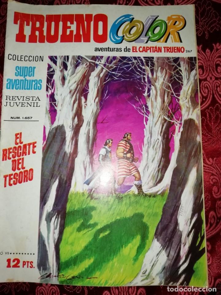 Tebeos: 10 numeros Trueno color,años 1972 al 74 - Foto 8 - 177571048