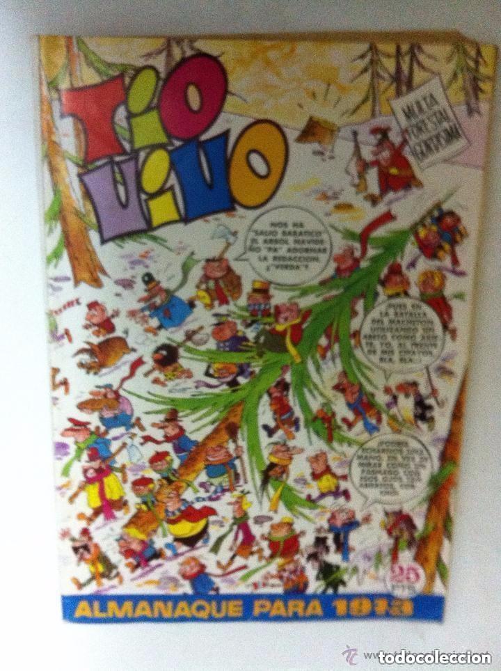 TIO VIVO -ALMANAQUE 1973 (Tebeos y Comics - Bruguera - Tio Vivo)