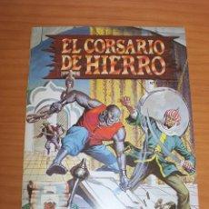 Tebeos: REEDICIÓN - EL CORSARIO DE HIERRO - NÚMERO 4: EN LA BOCA DEL LOBO - AÑO 1987 - PERFECTO ESTADO. Lote 295727948