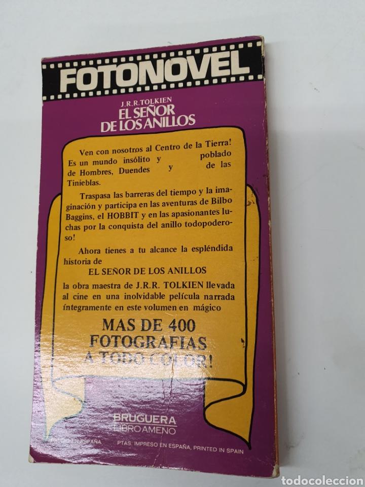 Tebeos: El señor de los anillos, Fotonovel Bruguera - Foto 2 - 177781778