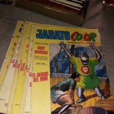 Tebeos: LOTE DE 16 AVENTURAS DE EL JABATO 1971. Lote 177796128