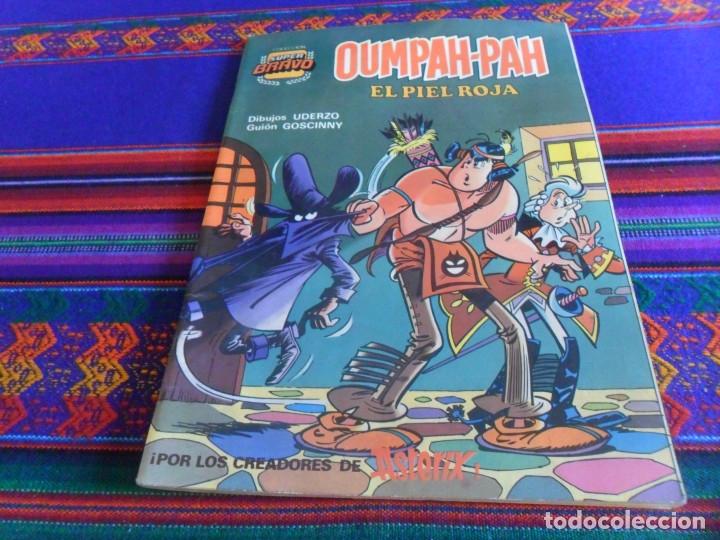 Tebeos: COL. SUPER BRAVO OUMPAH-PAH EL PIEL ROJA Nº 1. BRUGUERA 1982. 175 PTS. REGALO Nº 4. - Foto 2 - 34863086