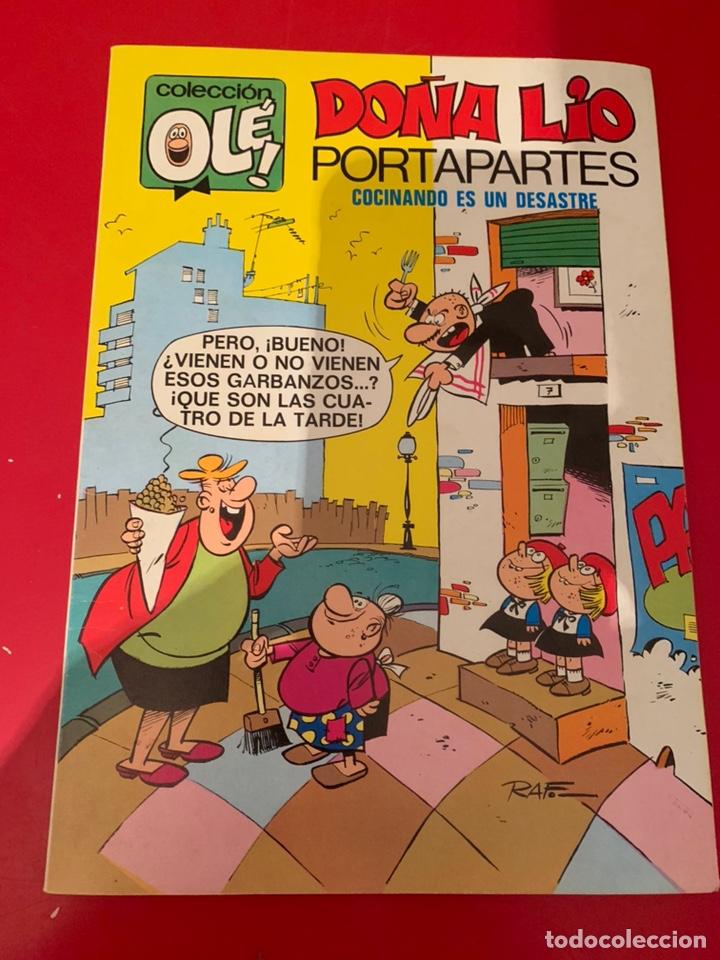 DOÑA LIO PORTAPARTES N 27. 2 ED. 1977. PERFECTO ESTADO (Tebeos y Comics - Bruguera - Ole)