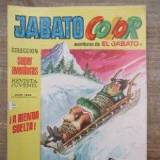 Tebeos: JABATO COLOR - 1ª EPOCA - SUPERAVENTURAS - Nº 181 - BRUGUERA. Lote 177947570