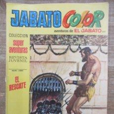 Tebeos: JABATO COLOR - 1ª EPOCA - SUPERAVENTURAS - Nº 200 - BRUGUERA. Lote 177947678