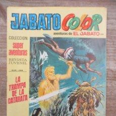Tebeos: JABATO COLOR - 1ª EPOCA - SUPERAVENTURAS - Nº 204 - BRUGUERA. Lote 177947875