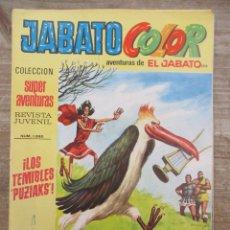 Tebeos: JABATO COLOR - 1ª EPOCA - SUPERAVENTURAS - Nº 206 - BRUGUERA. Lote 177947959