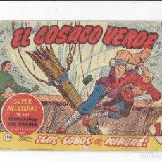 Tebeos: COLECCION EL COSACO VERDE N,116 EDITORIAL BURGUERA AÑO 1967. Lote 177952307