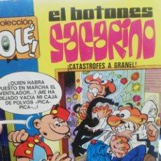 Tebeos: EL BOTONES SACARINO. CATASTROFES A GRANEL. Lote 178041207