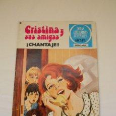 Tebeos: CRISTINA Y SUS AMIGAS. CHANTAJE!. Nº 11. 1ª EDICIÓN. 1978. BRUGUERA. ESTHER . Lote 178069267