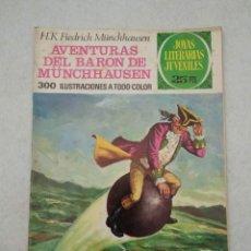 Tebeos: JOYAS LITERARIAS JUVENILES - MÜNCHHAUSEN - AVENTURAS DEL BARÓN DE MÜNCHHAUSEN- Nº 146 - 1975. Lote 178095818