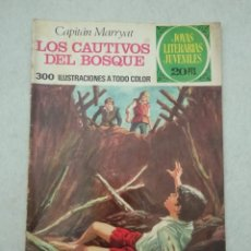 Tebeos: JOYAS LITERARIAS JUVENILES - CAPITÁN MARRYAT - LOS CAUTIVOS DEL BOSQUE - Nº 132 - 1975. Lote 178096293
