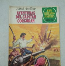 Tebeos: JOYAS LITERARIAS JUVENILES - ALFRED ASSOLLANT - AVENTURAS DEL CAPITÁN CORCORAN - Nº 80 - 1979. Lote 178097848