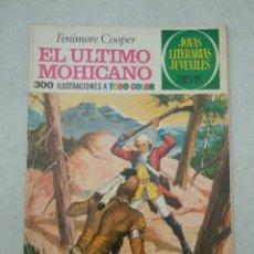 Tebeos: JOYAS LITERARIAS JUVENILES - FENIMORE COOPER - EL ÚLTIMO MOHICANO - Nº 12 - 1975. Lote 178098774
