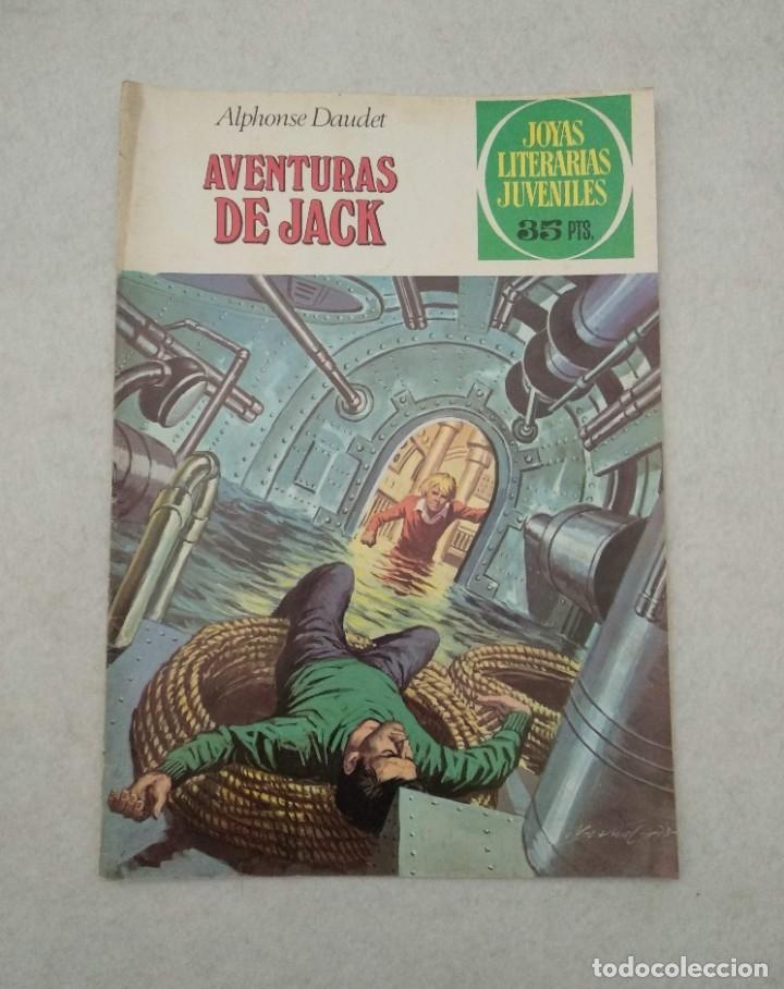 JOYAS LITERARIAS JUVENILES - ALPHONSE DAUDET - AVENTURAS DE JACK - Nº 89 - 1979 (Tebeos y Comics - Bruguera - Joyas Literarias)
