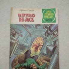 Tebeos: JOYAS LITERARIAS JUVENILES - ALPHONSE DAUDET - AVENTURAS DE JACK - Nº 89 - 1979. Lote 178100389
