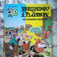 Tebeos: OLE Nº 71 MORTADELO Y FILEMÓN PORTADA CON RELIEVE. Lote 178168428