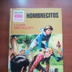 Tebeos: HOMBRECITOS LOUISE MAY ALCOTT BRUGUERA HISTORIAS SELECCION SERIE MUJERCITAS Nº 2 1979. Lote 178209103