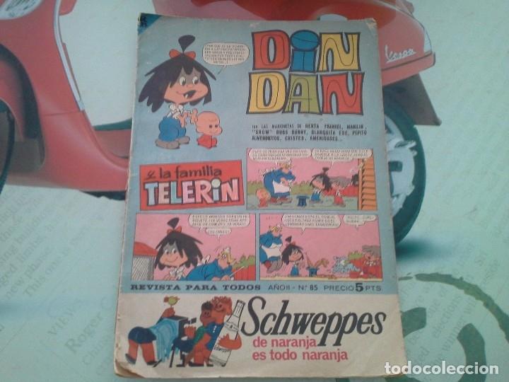 REVISTA DE LA FAMILIA TELERIN DE LA EPOCA. 5 PTAS. VER FOTOS (Tebeos y Comics - Bruguera - Din Dan)