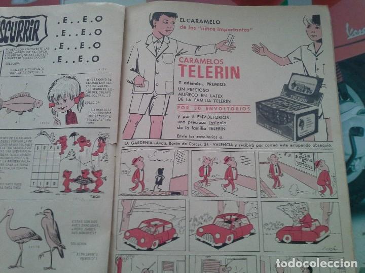 Tebeos: Revista de la FAMILIA TELERIN DE LA EPOCA. 5 PTAS. VER FOTOS - Foto 5 - 178261350