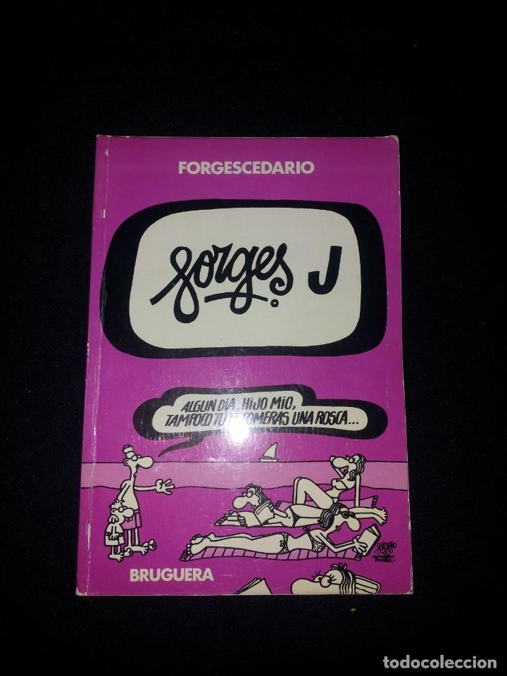 Tebeos: ANTONIO FRAGUAS FORGES - FORGESCEDARIO - COLECCIÓN COMPLETA 10 TOMOS - EDITORIAL BRUGUERA 1979/80 - Foto 5 - 178305467
